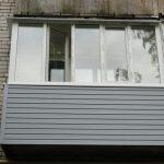 Установка пластиковых рам на балкон