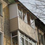 Балкон на последнем этаже в Нижнем Новгороде