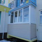 Остекление балкона в ЖК Окский берег в Нижнем Новгороде