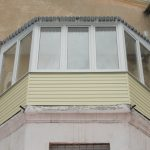 Балкон нестандартной формы