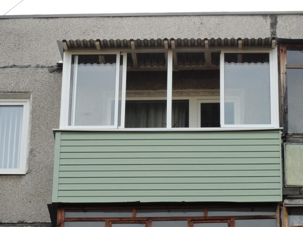 Балкон с крышей в Нижнем Новгороде