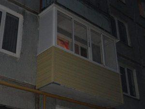 Алюминиевое окна на балкон
