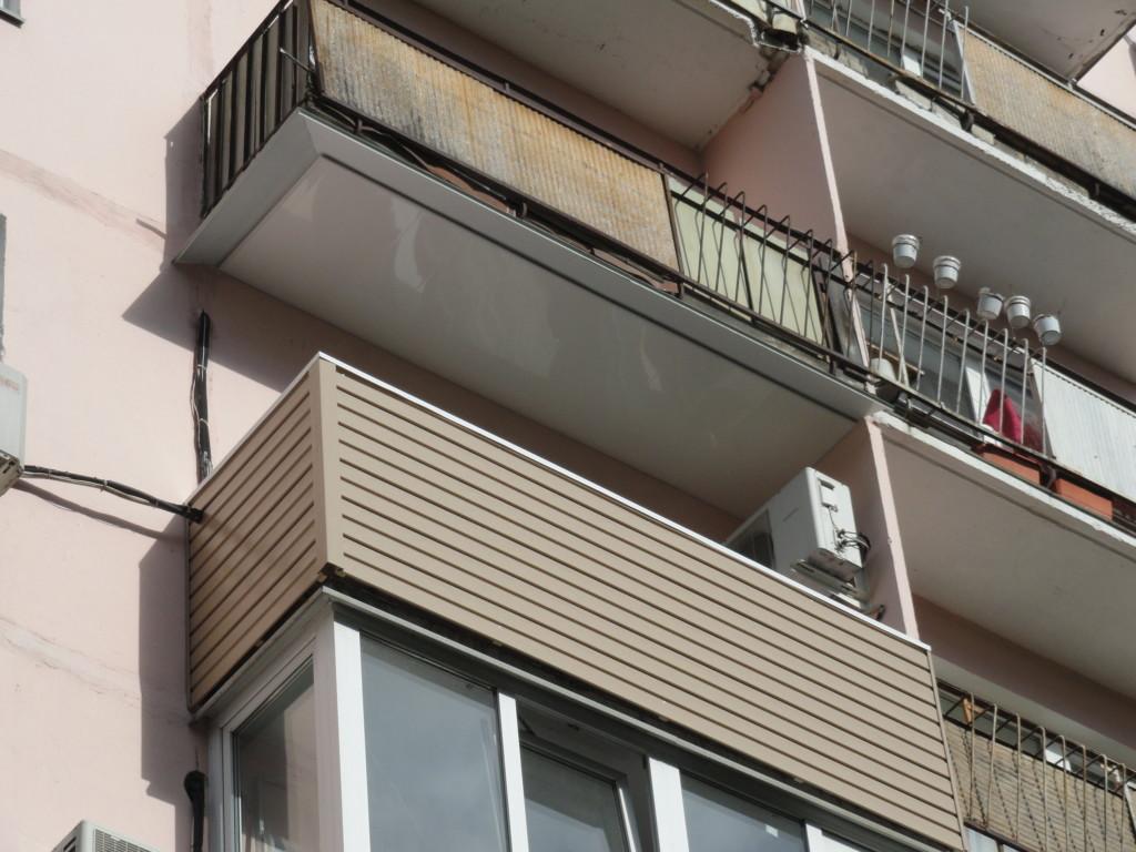 Балкон без остекления в Нижнем Новгороде