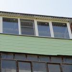 Ремонт балкона под крышей в Нижнем Новгороде
