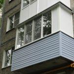 Остекление балкона в Хрущевке в Нижнем Новгороде