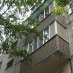 Отделка 2 соседских балконов
