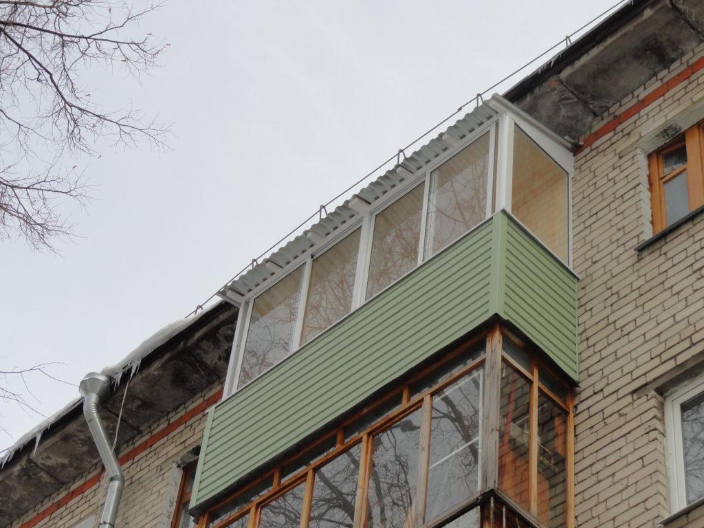 Новая жизнь старого балкона в Нижнем Новгороде