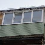 Балкон под крышей в Нижнем Новгороде