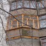 Балкон около площади Ленина в Нижнем Новгороде