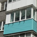 Балкон с рассадой