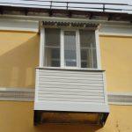 Ремонт балкона под ключ в сталинке