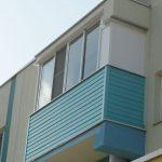 """Остекление балкона под ключ в жилом квартале """"Окский берег"""" в Нижнем Новгороде"""
