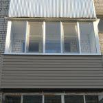 Остекление балкона алюминиевыми развижными системами в Нижнем Новгороде