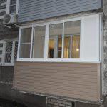 Остекление балкона в п. Новинки в Нижнем Новгороде
