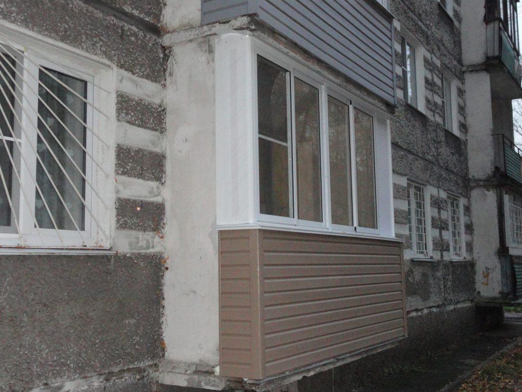 Остекление сложного балкона в Нижнем Новгороде
